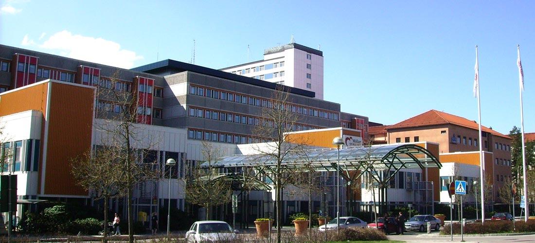 Mälarsjukhuset i Eskilstuna, Region Sörmland. Foto: Wikipedia.